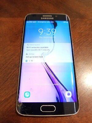 Samsung Galaxy S6 Edge SM-G925P - 64GB - Black Sapphire (Sprint) Smartphone for sale  Shipping to Canada