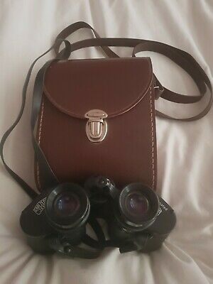 Carl Zeiss Jena Jenoptem 8 x 30w Multi-Coated Binoculars And Case Ex Condition