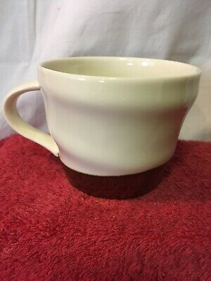Starbucks Mug 2013 Hand Dipped Bronze Swirl Ceramic  Coffee Cup 12oz