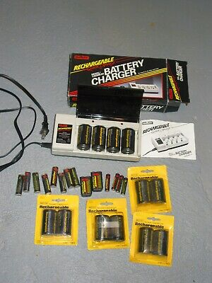 MALLORY RECHARGEABLE BATTERY QUICK CHARGER AND BATTERIES for sale  Walton