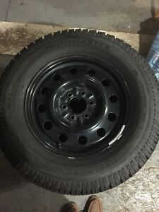 Winter tires on 18 inch steal rim