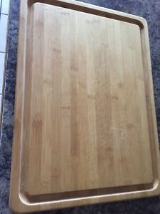 Pampered chef bamboo cuttingboard
