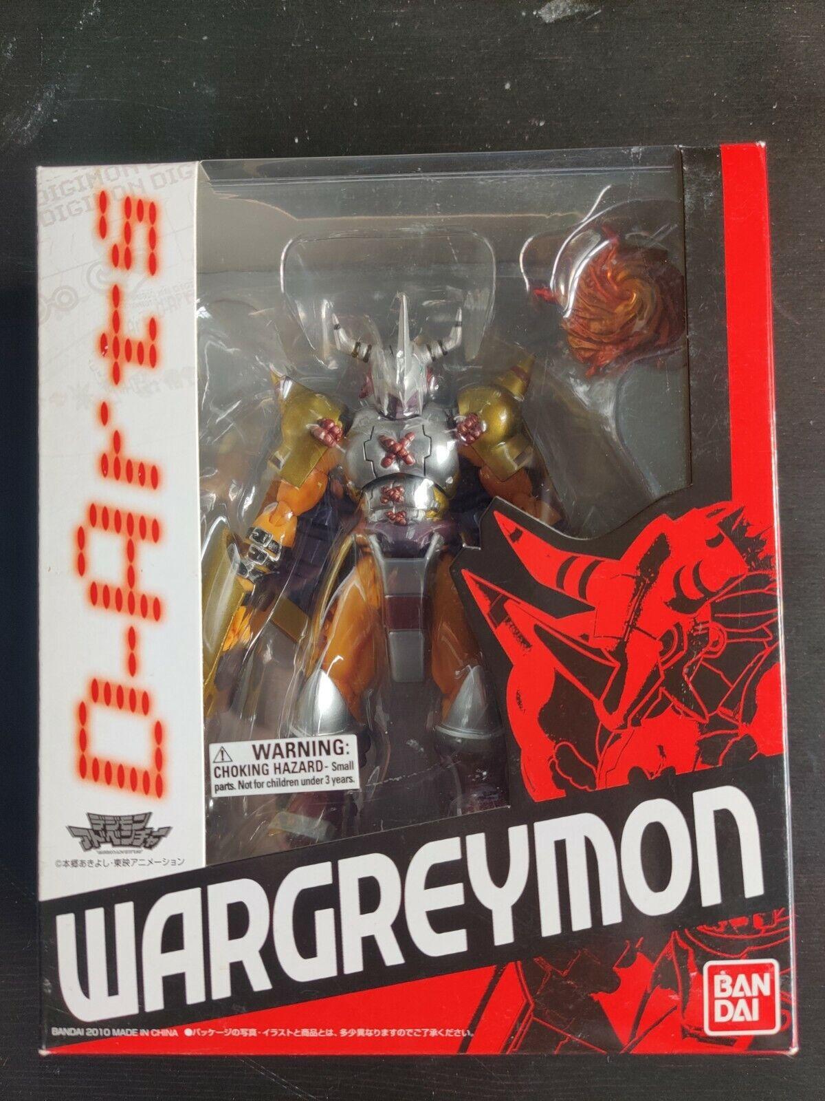 Bandai DARTS Digimon Wargreymon Figure