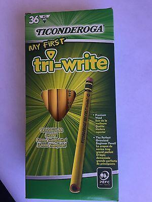 Dixon Ticonderoga Company 13082 Ticonderoga Tri-Write Beginner No. 2