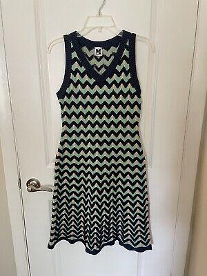 Missoni Dress 42 Womens Chevron