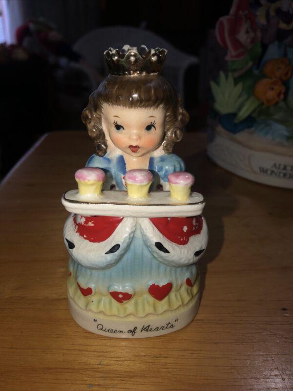 Rare Napco Queen of Hearts Figurine