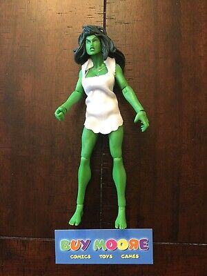 "HASBRO Marvel Legends 6"" SHE-HULK 1st Appearanc action figure FIN FANG FOOM 2008"