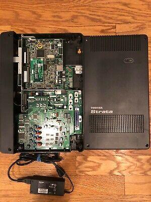 Toshiba Strata Cix40 System Chsu40a3 7x16x1 With Gcdu2 And Gvph Voice Mail