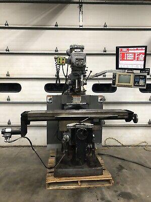 Bridgeport Eztrak Series Ii Special 11x58 2 Axis Cnc Milling Machine Sx Ii