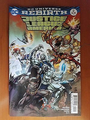 Justice League of America # 2 DC Rebirth (1st Print)