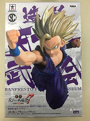 Banpresto Dragon Ball Z SCultures Big Budoukai 7 Super Saiyan 2 Son Gohan figure