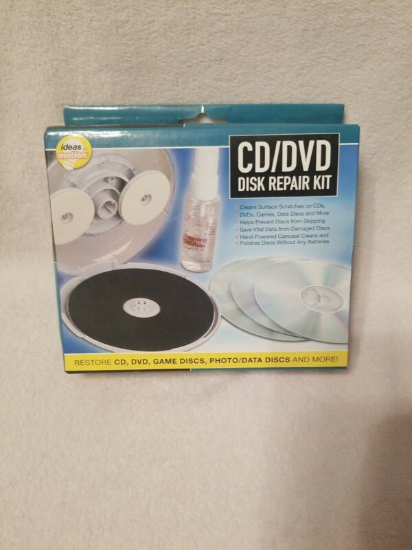 Brand New CD DVD Disc Repair Kit by Ideas in Motion