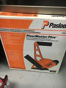 2 in 1 flooring nailer and stapler new in the box paslode