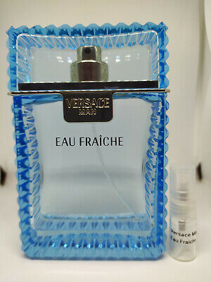Versace Man Eau Fraiche 2ml Sample FREE P&P