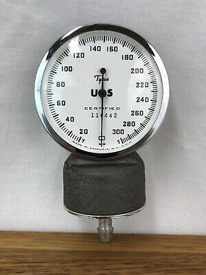 Vtg Welch Allyn Tycos Sphygmomanometer Gauge For Adult Blood Pressure Cuff Nice