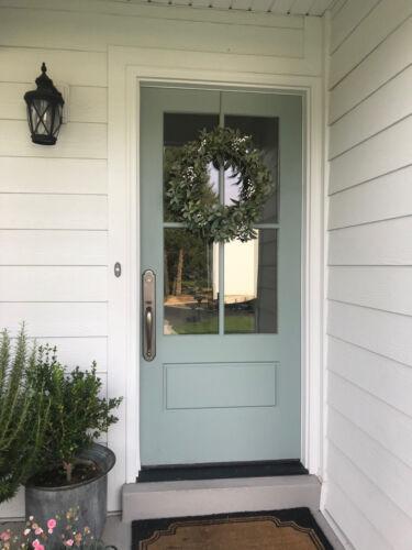 FIBERGLASS COTTAGE STYLE 4 LITE ENTRY DOOR