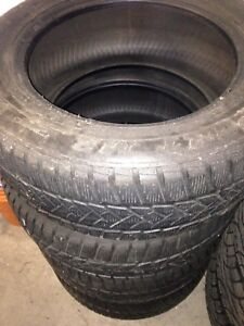 265/55R18 winter tires 255 55 18 used