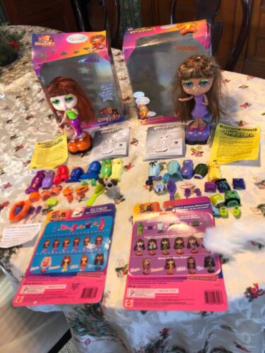 """MATTEL """"Diva Stars"""" Talking Interactive Dolls original boxes+more Reduced by $10"""
