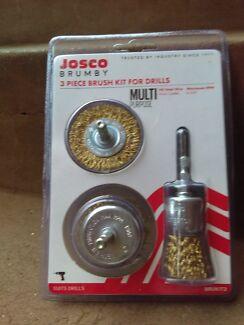 Josco 3pc brush kit