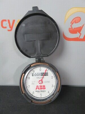 Abb C700 Water Meter C-700 1 Gallons Direct Read Elster Amco