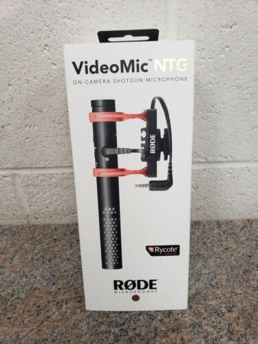 Rode VideoMic NTG Camera Mount Shotgun Microphone - Black New Sealed