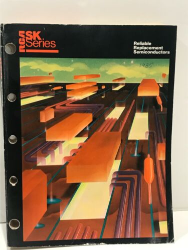 RCA SK Series Reliable Replacement Semiconductors SKG202D 1985 Guidebook Vintage