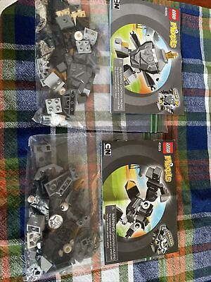 LEGO Mixels Series 1 - 41503 And 41505 Shuff And Krader With Manuals No Box