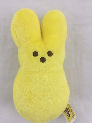 Peeps Stuffed Bunny (Peeps Bunny Rabbit Yellow Plush 6