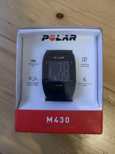 Polar M430 GPS Running Watch Sportuhr Tracker schwarz