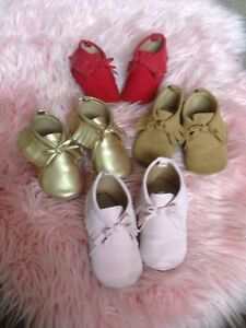 18-24 month old navy moccasins