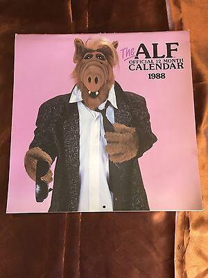 Vintage Alf The Alien Tv Show 1988 Calendar