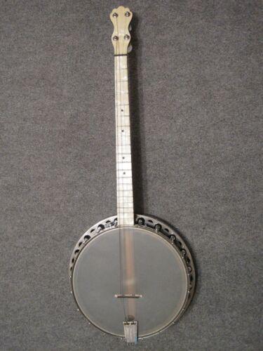 Vintage Banjo 4 String Tenor Restored with used  case