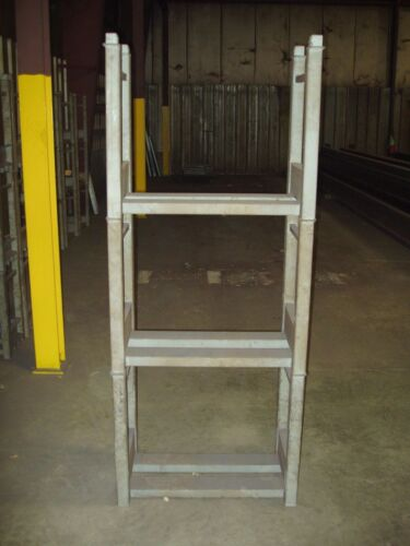 "Modular Steel Bar Storage Stacking Rack 30"" W x 24"" H x 16"" D"