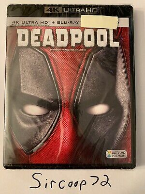 Deadpool (4K Ultra Blu-ray/Blu-ray) BRAND New/Sealed (English/French)