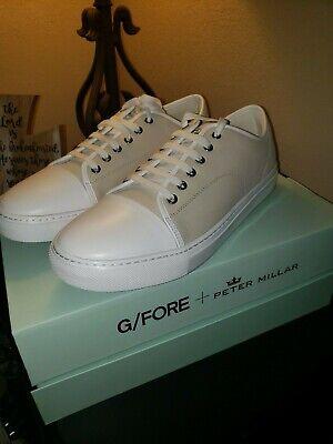 G/Fore + Peter Millar Captoe Disruptor Leather Golf Shoe-NIB-SZ: 12 RARE