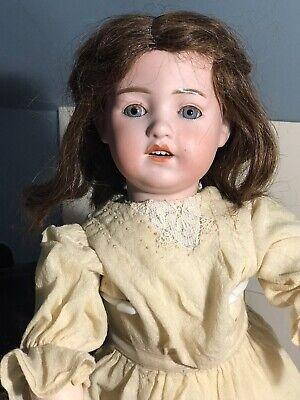 Unusual Antique Heubach Santa Sunburst Doll 20in Antique Clothing