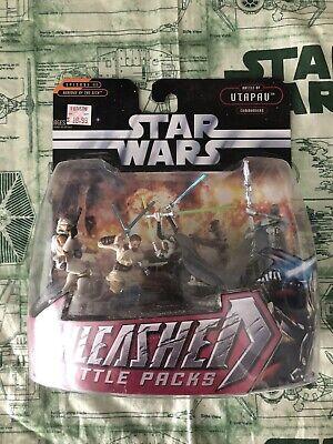 Star Wars Unleashed Battle Packs Utapau Commanders Revenge Sith Obi-Wan Grievous