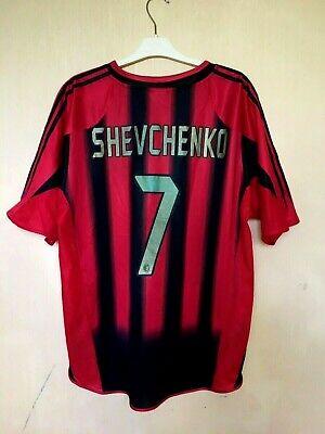 AC MILAN 20042005 HOME FOOTBALL JERSEY SOCCER CALCIO MAGLIA SHIRT #7 SHEVCHENKO