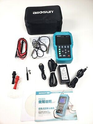 Handheld Oscilloscope 3 In 1 Digital Scope Multimeter 50mhz 1 Channel With Usb