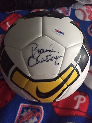 fc9bec70268a BRANDI CHASTAIN AUTOGRAPHED/SIGNED USA SOCCER NIKE SOCCER BALL PSA DNA