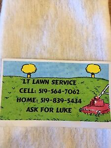 LT lawn service. Only in Essex