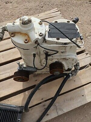 Ingersoll Rand U25h-sp 25 Hp Rotary Screw Compressor Assembly And Oil Cooler