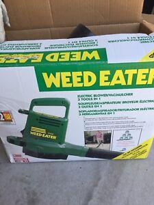 Weed eater leaf blower
