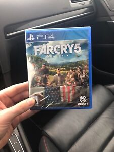 Sealed copy of Farcry 5 (70$/ trade for God of War)