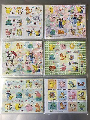 Pokemon Go Gotta Catch em All Sticker 6 Mal Jeweils 12-17 Klebesticker Aufkleber
