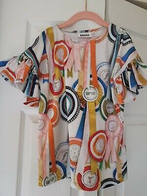 Molo Girl's My Rosettes T-Shirt Size 8-10