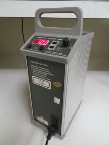 Ametek Jofra Temperature Calibrator Model 202 50-260C 122-500F NC1