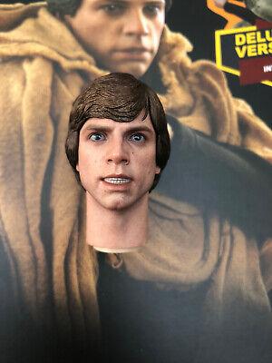 Hot Toys MMS517 Star Wars ROTJ Jedi Luke Skywalker Endor Open Mouth Headsculpt