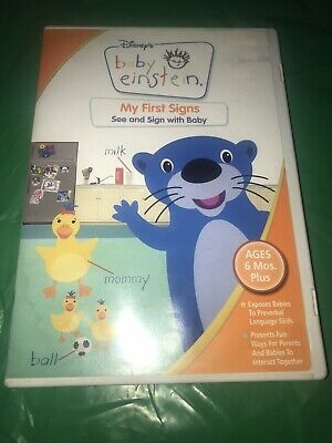 Baby Einstein: My First Signs: See & Sign with Baby (ages 6 mos + (DVD, 2007)