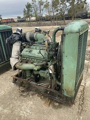 Detroit Diesel 8v-71 Engine W Rockford Pto